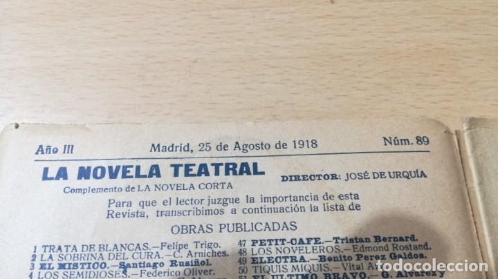 Libros antiguos: LA GENERALA - PERRIN Y PALACIOS - LA NOVELA TEATRAL 1918M304 - Foto 4 - 194913645