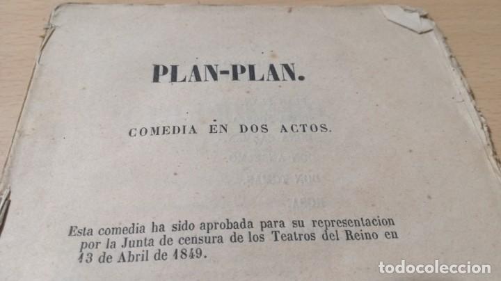 Libros antiguos: PLAN - PLAN - M P D - AÑO 1857 IMPRENTA CIPRIANO LOPEZ MADRIDM304 - Foto 4 - 194914042