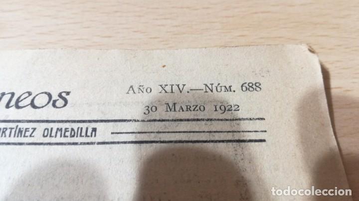 Libros antiguos: EL ESPEJISMO DE LA GLORIA - AUGUSTO MARTINEZ OLMEDILLA 1922M304 - Foto 5 - 194914307