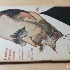 Libros antiguos: EL MISTERIO DEL CUARTO AMARILLO - GASTON LEROUX - 1917 LA NOVELA TEATRALM304. Lote 194914372