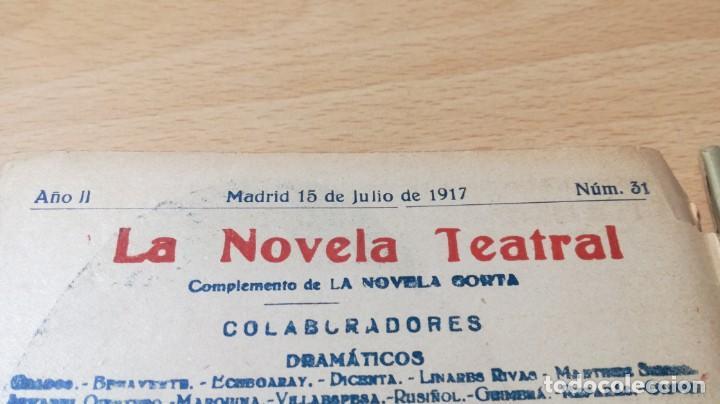 Libros antiguos: EL MISTERIO DEL CUARTO AMARILLO - GASTON LEROUX - 1917 LA NOVELA TEATRALM304 - Foto 4 - 194914372