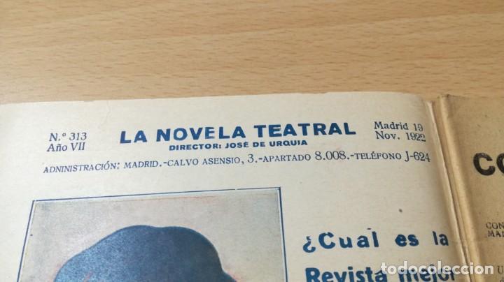 Libros antiguos: CONSTANTINO PLA - JOSE FERNANDEZ DEL VILLAR - 1922 LA NOVELA TEATRALM304 - Foto 4 - 194914605