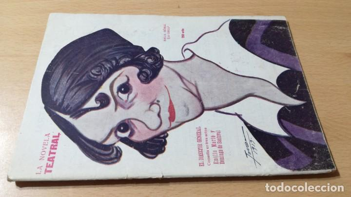 EL DIRECTOR GENERAL - E M Y D DE SANTOVAL - LA NOVELA TEATRAL 1919M304 (Libros antiguos (hasta 1936), raros y curiosos - Literatura - Teatro)