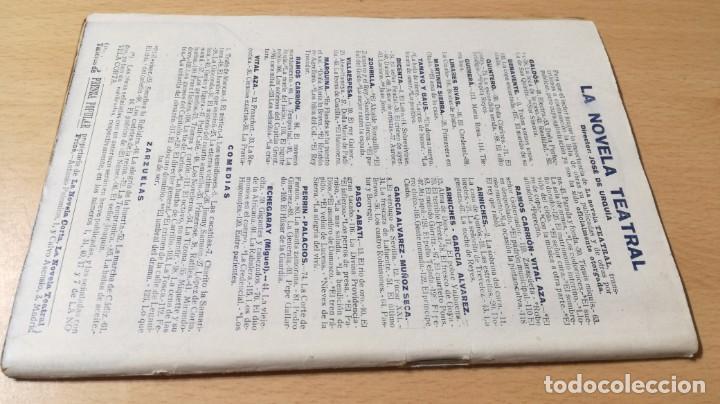 Libros antiguos: EL DIRECTOR GENERAL - E M Y D DE SANTOVAL - LA NOVELA TEATRAL 1919M304 - Foto 2 - 194914675