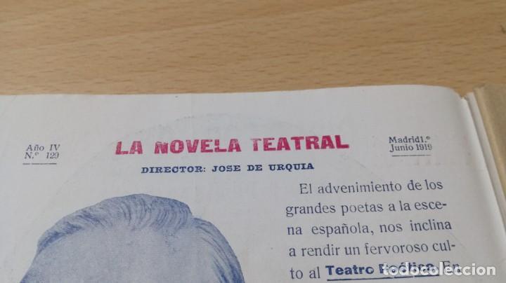 Libros antiguos: EL DIRECTOR GENERAL - E M Y D DE SANTOVAL - LA NOVELA TEATRAL 1919M304 - Foto 4 - 194914675