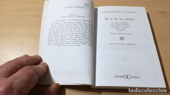 Libros antiguos: EL SI DE LAS NIÑAS - L FERNANDEZ DE MORATIN - CASTALIAM103 - Foto 5 - 194915115