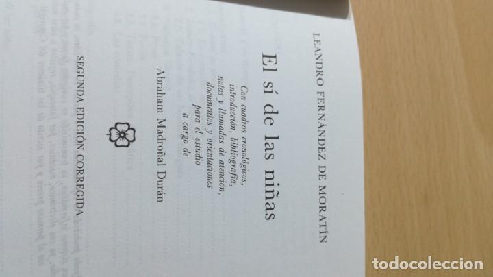 Libros antiguos: EL SI DE LAS NIÑAS - L FERNANDEZ DE MORATIN - CASTALIAM103 - Foto 6 - 194915115