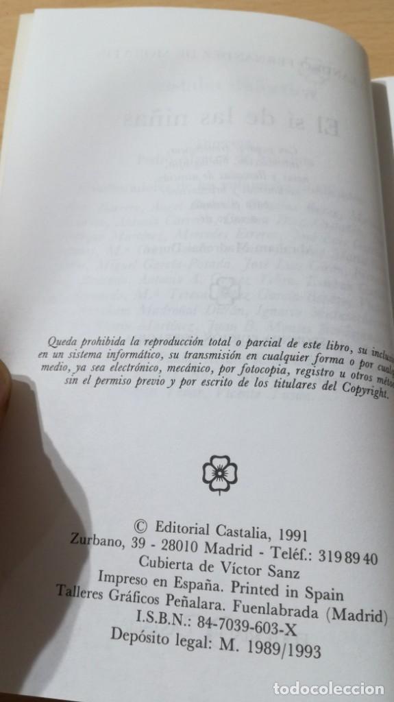Libros antiguos: EL SI DE LAS NIÑAS - L FERNANDEZ DE MORATIN - CASTALIAM103 - Foto 7 - 194915115