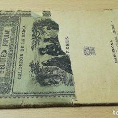 Libros antiguos: MAÑANAS DE ABRIL Y MAYO - MISERERES -CALDERON DE LA BARCA M401. Lote 194915558