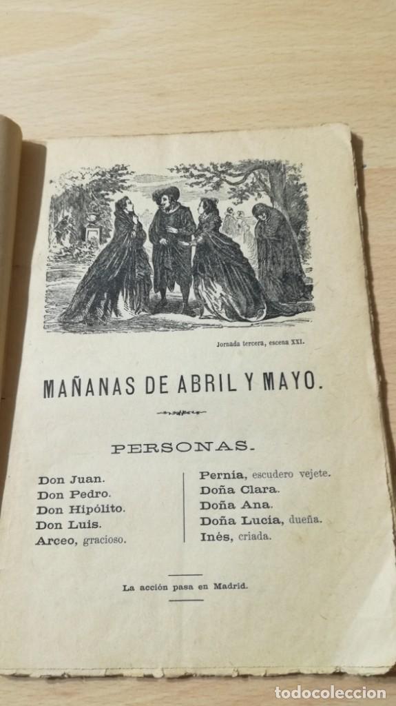Libros antiguos: MAÑANAS DE ABRIL Y MAYO - MISERERES -CALDERON DE LA BARCA M401 - Foto 6 - 194915558