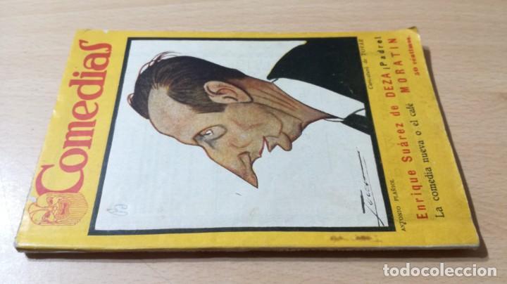 PADRE / SUAREZ - LA COMEDIA NUEVA O EL CAFÉ / MORATIN - 1926 COMEDIAS M401 (Libros antiguos (hasta 1936), raros y curiosos - Literatura - Teatro)