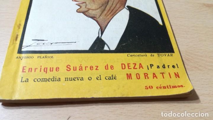 Libros antiguos: PADRE / SUAREZ - LA COMEDIA NUEVA O EL CAFÉ / MORATIN - 1926 COMEDIAS M401 - Foto 3 - 194915681
