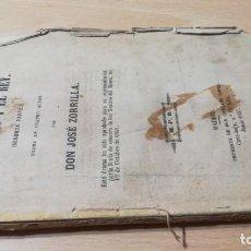 Libros antiguos: EL ZAPATERO Y EL REY - JOSE ZORRILA - 2ª PARTE - MPD 1857M401. Lote 194915877