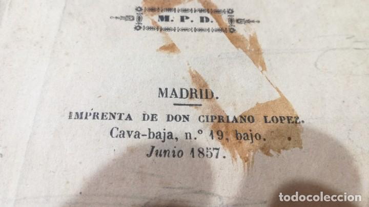 Libros antiguos: EL ZAPATERO Y EL REY - JOSE ZORRILA - 2ª PARTE - MPD 1857M401 - Foto 4 - 194915877