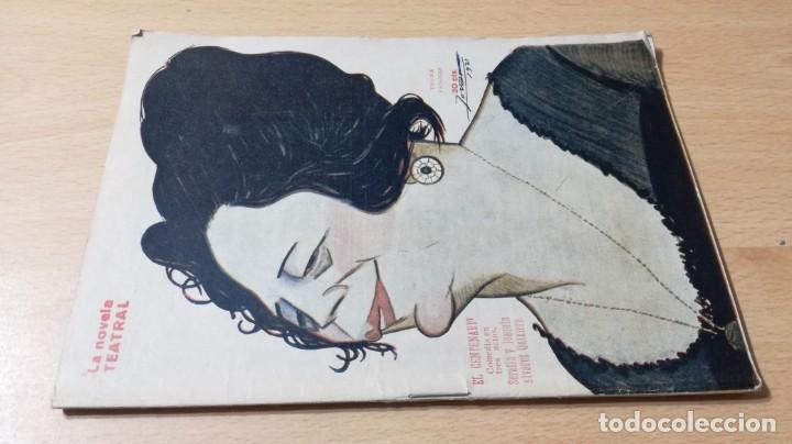 EL CENTENARIO - ALVAREZ QUINTERO - LA NOVELA TEATRAL 1921M401 (Libros antiguos (hasta 1936), raros y curiosos - Literatura - Teatro)