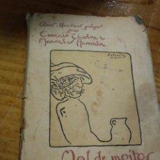 Libros antiguos: MAL DE MOITOS. TRATO A CEGAS. HERMIDA. CHARLON. Lote 194931771