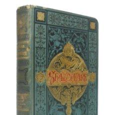 Libros antiguos: 1881 - SHAKESPEARE: EL MERCADER DE VENECIA, MACBETH, ROMEO Y JULIETA, OTELO - PRECIOSOS GRABADOS. Lote 194941882