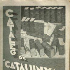 Libros antiguos: CATÀLEG DE CATALUNYA TEATRAL PUBLICACIÓ QUINZENAL D'OBRES ESCENIQUES 935. Lote 195114243