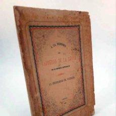 Libros antiguos: LA VIDA ES SUEÑO. A LA MEMORIA DE CALDERÓN DE LA BARCA EN SU SEGUNDO CENTENARIO.. UV, 1881. Lote 195123446