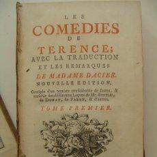 Libros antiguos: 1767 LES COMEDIES DE TERENCE ILLUSTRADO FRANCIA. Lote 195890075