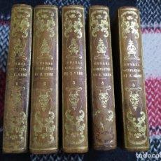 Libros antiguos: 1840. OBRAS COMPLETAS DE EUGENE SCRIBE. TEATRO, ÓPERA, VAUDEVILLE. Lote 219559007