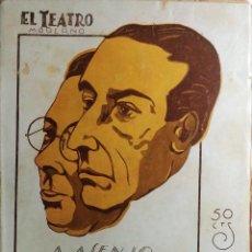 Libros antiguos: LA PÍCARA MOLINERA : ZARZUELA … / TORRES DEL ÁLAMO Y ASENJO. 1929 (EL TEATRO MODERNO, NÚM. 179). Lote 198497287