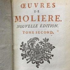 Libros antiguos: OEUVRES DE MOLIERE TOMO II. Lote 199064751