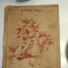 Libros antiguos: NOVELA ILUSTRADA. VÍCTOR HUGO. Lote 200286832