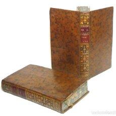 Livres anciens: 1758 - OBRAS DE PIERRE CORNEILLE - TEATRO CLÁSICO FRANCÉS - 2 TOMOS DEL SIGLO XVIII EN PIEL - EDIPO. Lote 200805058