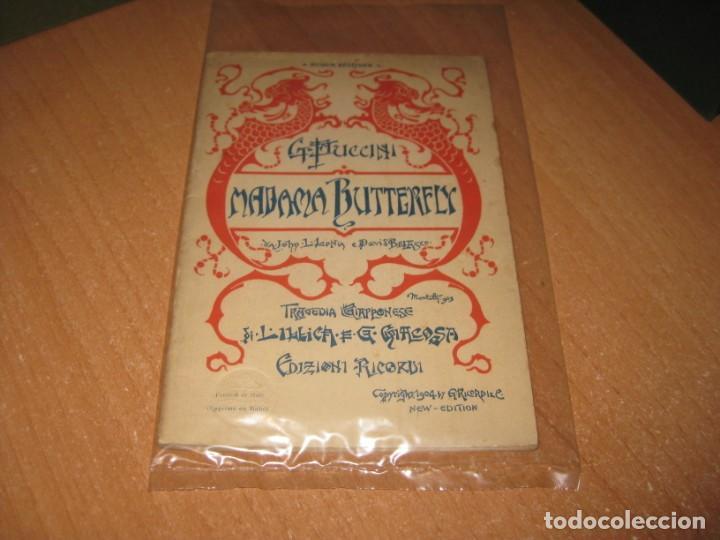 MADAMA BUTTERFLY (Libros antiguos (hasta 1936), raros y curiosos - Literatura - Teatro)