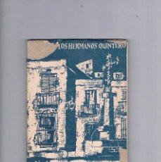 Libros antiguos: OBRAS DE LOS HERMANOS QUINTERO RONDALLA SOCIEDAD DE AUTORES ESPAÑOLES. Lote 202362295