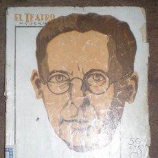 Libros antiguos: ALVAREZ QUINTERO, S. Y J: EL MUNDO ES UN PAÑUELO. EL TEATRO MODERNO Nº 202. Lote 40097206