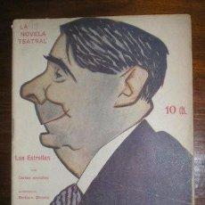 Libros antiguos: ARNICHES, CARLOS: LAS ESTRELLAS. 1917. Lote 49169538