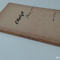 Libros antiguos: CANIGO POEMA HEROIC VERDAGUER ADAPTACIO JOSEP CARNER. Lote 203757725