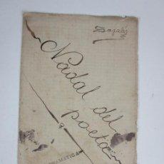 Libros antiguos: OBRA DE TEATRO - NADAL DEL POETA - ESCRITA SAGALÉS -SECCIÓN DRAMÁTICA JUVENTUD BIBLIOTECA GRANOLLERS. Lote 203797856