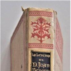 Libros antiguos: LA LEYENDA DE D. JUAN TENORIO - JOSÉ ZORRILLA - FRAGMENTO - MONTANER Y SIMÓN, EDITORES AÑO 1895. Lote 204071433