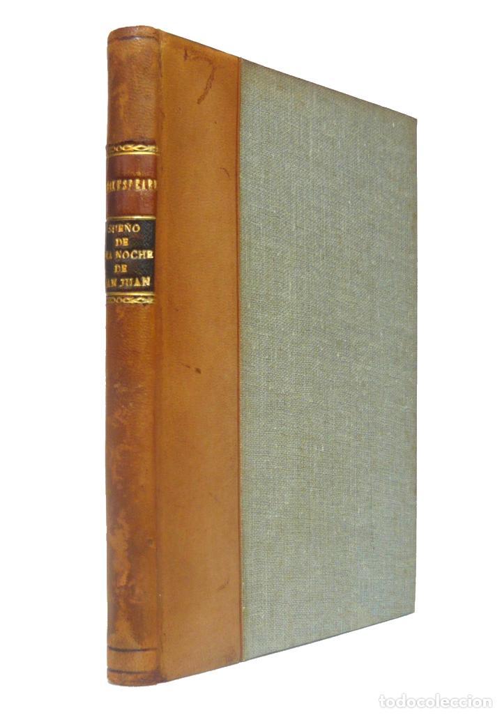 1922 - WILLIAM SHAKESPEARE: SUEÑO DE UNA NOCHE DE SAN JUAN - TEATRO ISABELINO - ENCUADERNACIÓN (Libros antiguos (hasta 1936), raros y curiosos - Literatura - Teatro)
