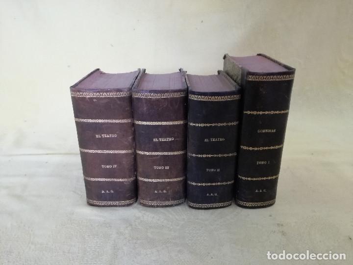 PRINCIPIOS XX, EL TEATRO Y COMEDIAS, GRAN COLECCIÓN DE REVISTA SEMANAL, ENCUADERNADAS EN 4 TOMOS (Libros antiguos (hasta 1936), raros y curiosos - Literatura - Teatro)