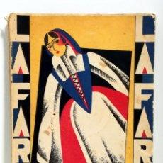 Libros antiguos: LA FARSA. AÑO II. MADRID, 1928. Nº. 62. MANUEL Y ANTONIO MACHADO. LAS ADELFAS. COMEDIA EN TRES ACTOS. Lote 205164452