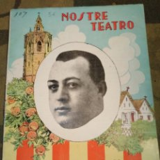 Livres anciens: TEATRE VALENSIA-N°18,AÑO 1931,NOSTRE TEATRO,LA BELLESA FALLERA, PACO BARCHINO,. Lote 205446527