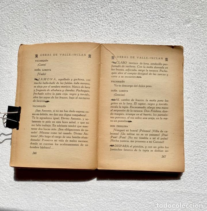 Libros antiguos: Martes de Carnaval. Esperpentos. Ramón del Valle-Inclán. 1930. Primera edición. - Foto 4 - 205383065