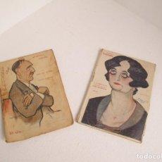 Livres anciens: LOTE DE 2 DE LA NOVELA TEATRAL / 1917 Y 1919 / BUEN ESTADO POR EDAD / VER FOTOS. Lote 205724987