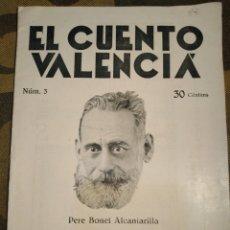 Libros antiguos: TEATRE VALENSIA-N°3,GINER 1930,LA VERCHE MARIA,PERE BONET ALCANTARILLA,EL CUENTO VALENCIANO. Lote 206875206