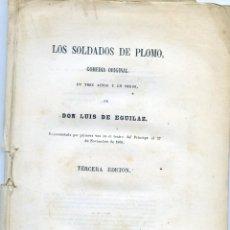Libros antiguos: EGUILAZ,LUIS DE:LOS SOLDADOS DE PLOMO.. Lote 206882726