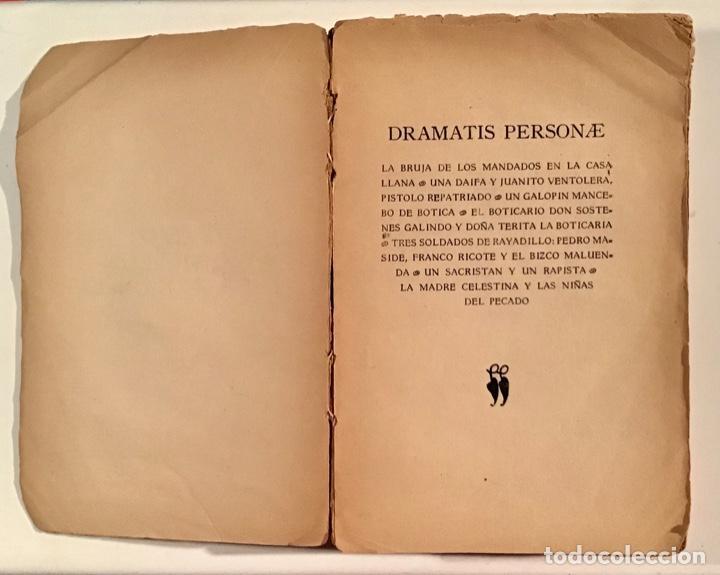 Libros antiguos: Martes de Carnaval. Esperpentos. Ramón del Valle-Inclán. 1930. Primera edición. - Foto 3 - 205383065