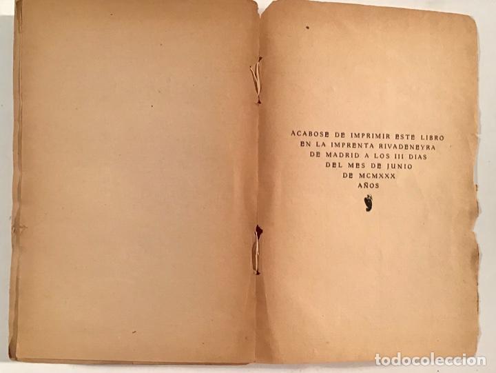 Libros antiguos: Martes de Carnaval. Esperpentos. Ramón del Valle-Inclán. 1930. Primera edición. - Foto 5 - 205383065