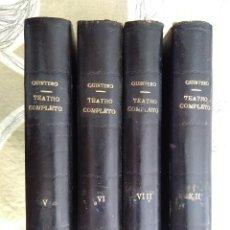 Libros antiguos: CUATRO TOMOS DE TEATRO COMPLETO DE S.Y J.ALVAREZ QUINTERO AÑOS 1923 Y 1924. Lote 208061183