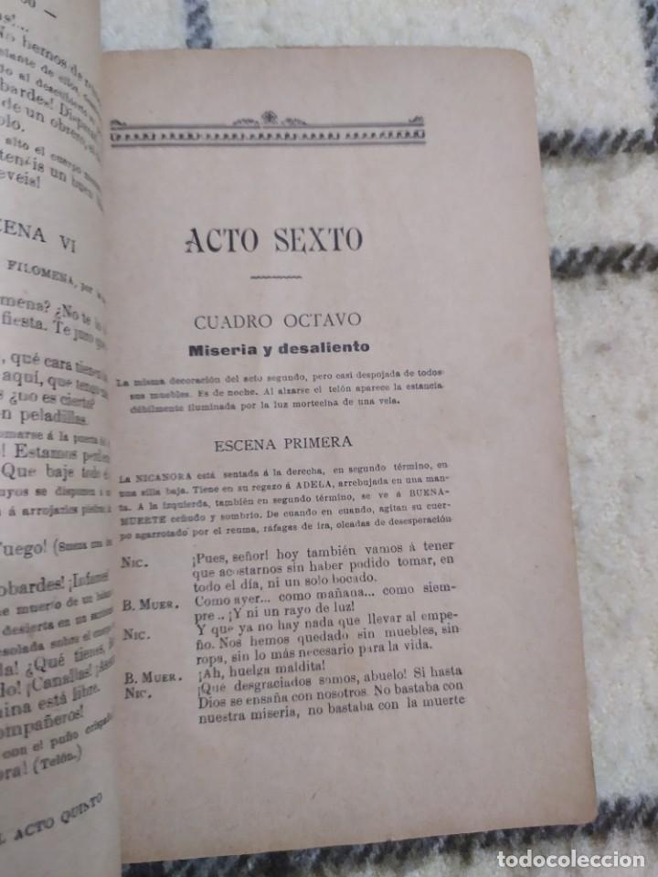 Libros antiguos: 1910. Germinal. Teatro. José Pablo Rivas. Dedicado por su autor. - Foto 6 - 208590778