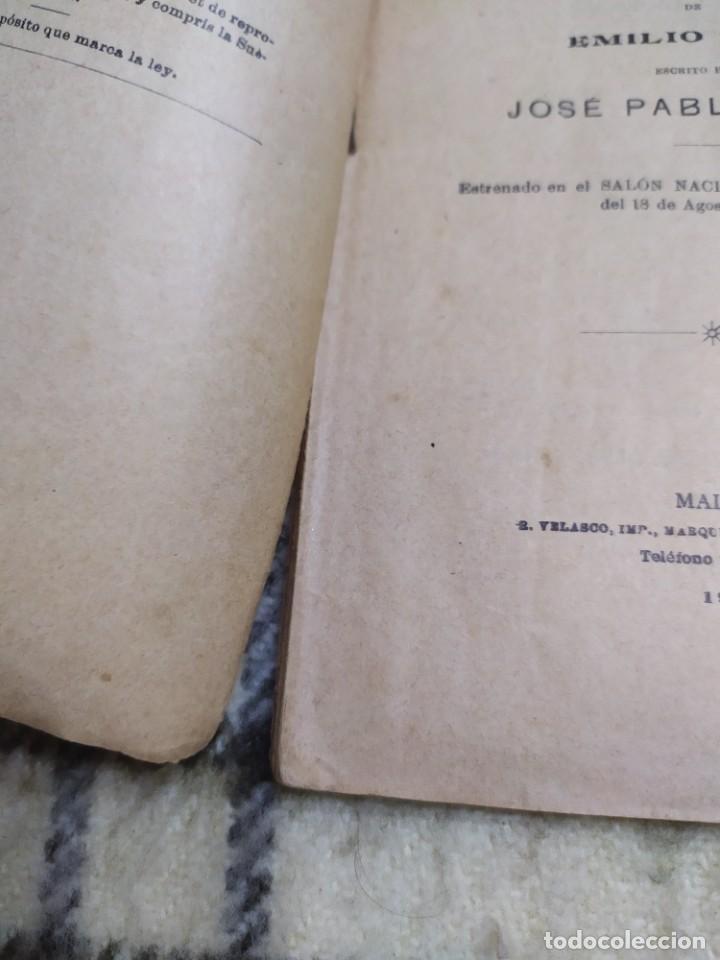 Libros antiguos: 1910. Germinal. Teatro. José Pablo Rivas. Dedicado por su autor. - Foto 8 - 208590778