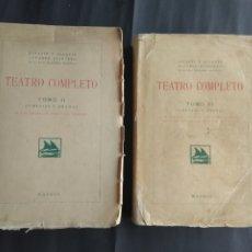 Libros antiguos: TEATRO COMPETO, II Y VI - SERAFÍN Y JOAQUÍN ÁLVAREZ QUINTERO (MADRID : S.G.E.L., 1923). Lote 207976306